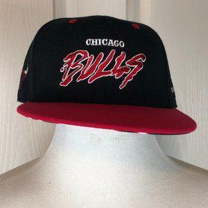 Chicago Bulls Melonwear Black Snap-Back